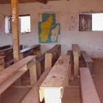 L'intérieur de la classe.