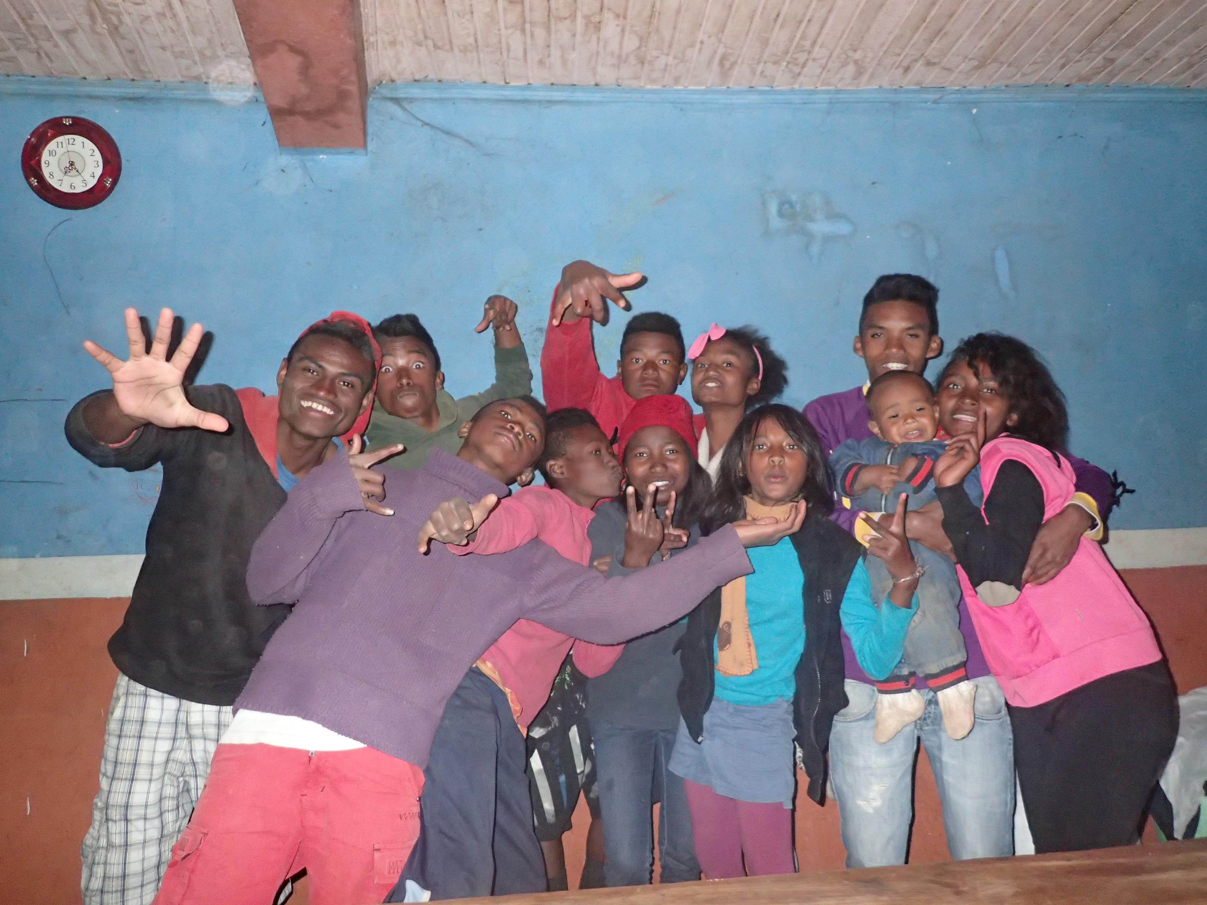 Un groupe (toujours) de bonne humeur
