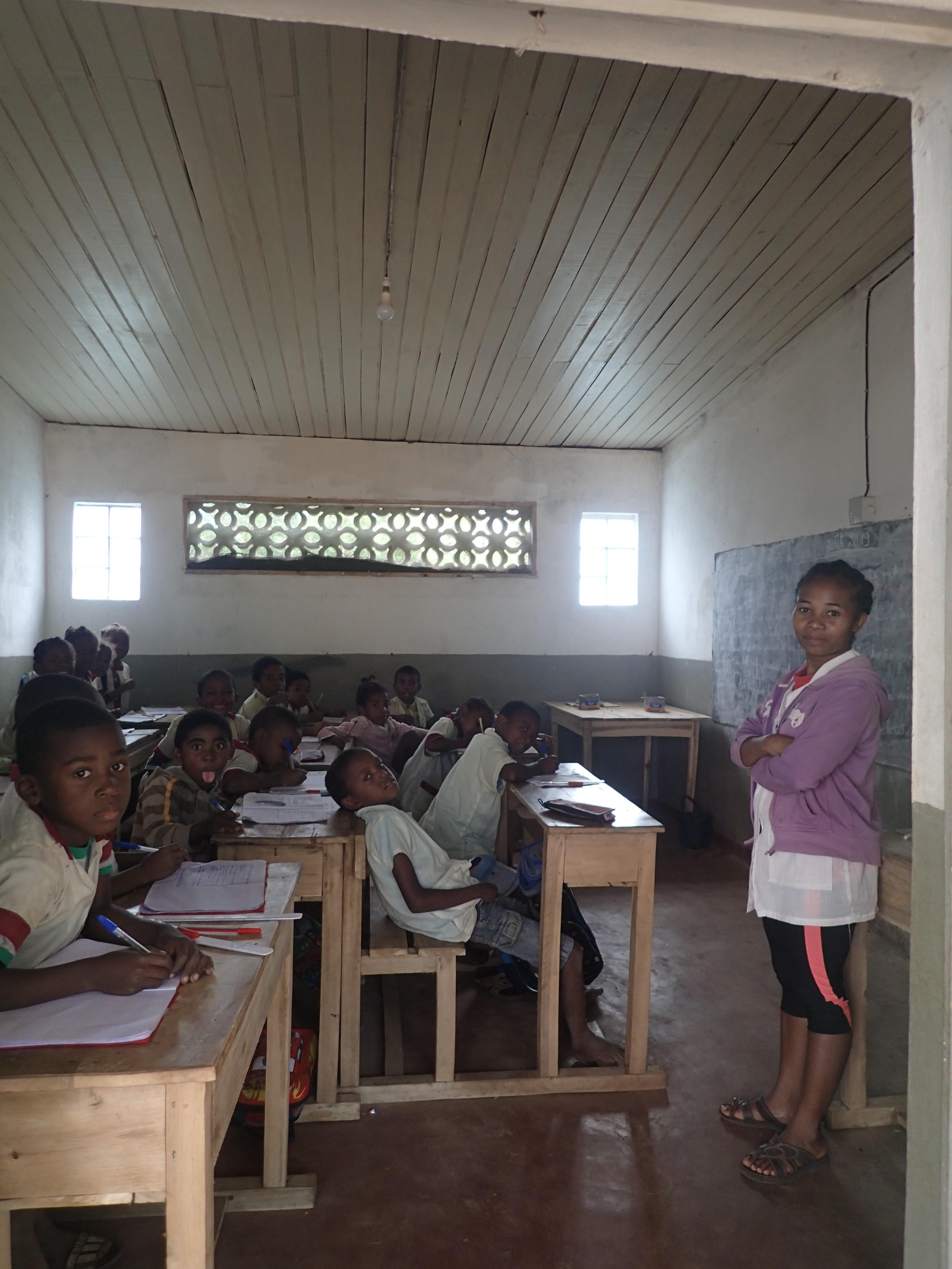 Salle de classe Mahambo