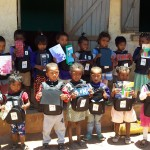 Elèves de classe pré-scolaire à Ankarefo