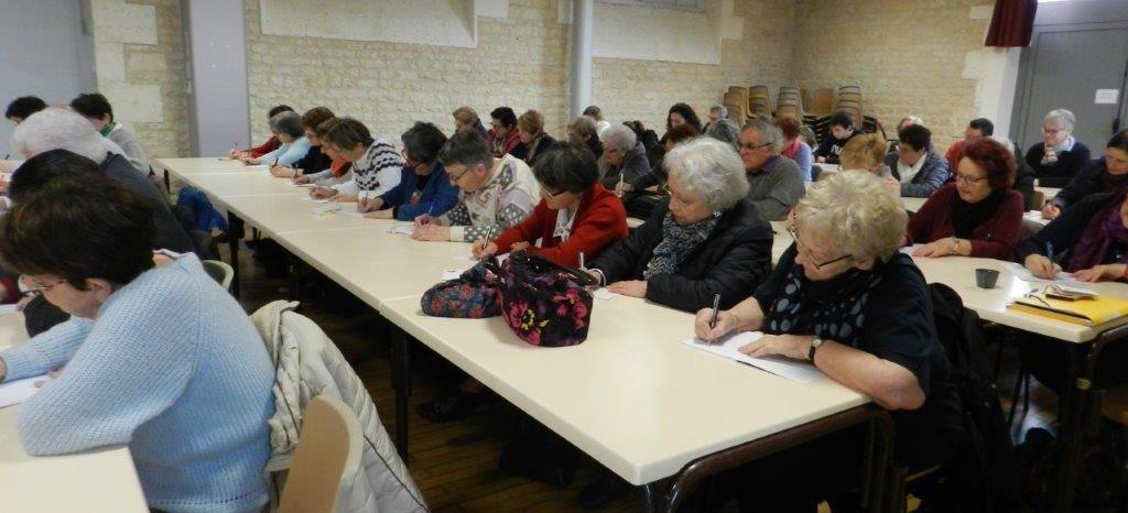 Un sans-faute pour la dictée ludique d'Aunac/Charente