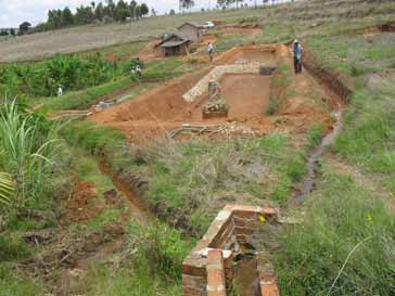 bassins en construction