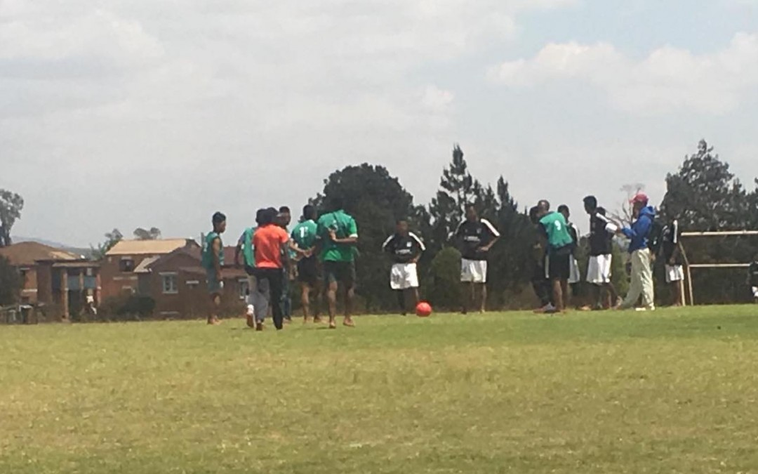 Sports pour tous à Antsirabe, avec le réseau OSCAPE
